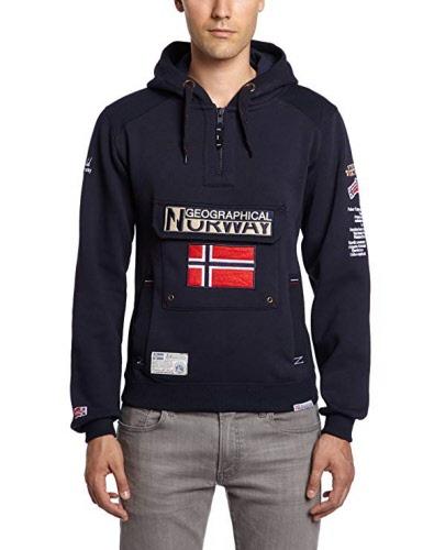 7797e849b Sudadera Geographical Norway Gymclass NAVY | NAVY